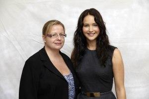 Unelmien pelikirjan Jennifer Lawrence, nuori ja ehkä hieman naiivi. Ei pahalla. ©HFPA