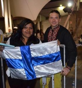 The Rasmus -yhtyeen fani Nelly Palacios kertoi Eerolle Guadalajaran elokuvajuhlista.