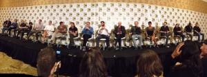 Hugh Jackman nähdään nyt Wolverine-elokuvassa. Aussinäyttelijä paljasti viime viikonloppuna Comic-Conissa, että uuden X-Men-leffan, Days of Future Past, ensi-ilta on ensi toukokuussa. ©Anke Hofmann