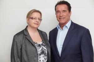 Arnold Schwarzenegger nähdään toimintatrillerissä Escape Plan. Lue juttuni Arskasta Nordisk Filmin sivuilta: http://goo.gl/jlvoRT ©HFPA