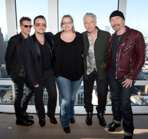 Tapsin U2:n New Yorkissa. ©HFPA