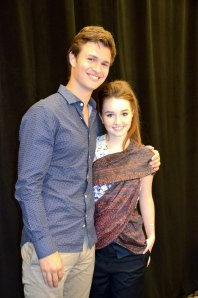Ansel Elgort & Kaitlyn Dever / Men, Women & Children.