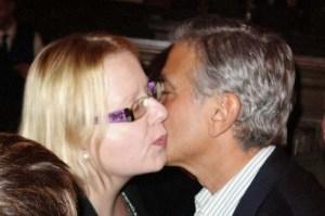 Työt eivät alkaneet hullummin tänä vuonna. Ensimmäinen keikkani oli George Clooneyn tapaaminen. Hollywood Foreign Press Association palkitsee hänet ensi sunnuntain pidettävässä Golden Globe -gaalassa Cecil B. DeMille -kunniapalkinnolla. Kuva: William Rutten