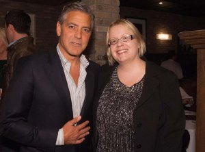 Golden Globe Awards' reception celebrating George Clooney as Cecil B. DeMille Award recipient Kirpi-ja-george-4a