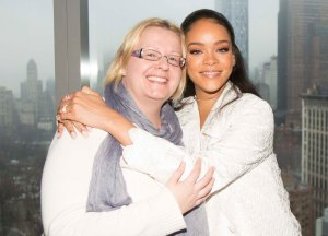 Tapasin Rihannan pari viikkoa sitten New Yorkissa. Hänen haastattelunsa löytyy viikonlopun Metrosta. Kuva: HFPA