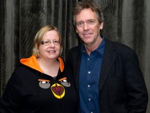 Hugh Laurie. Kuva: HFPA