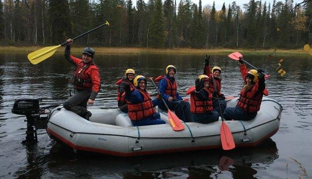 Rafting. Photo: Kirpi.