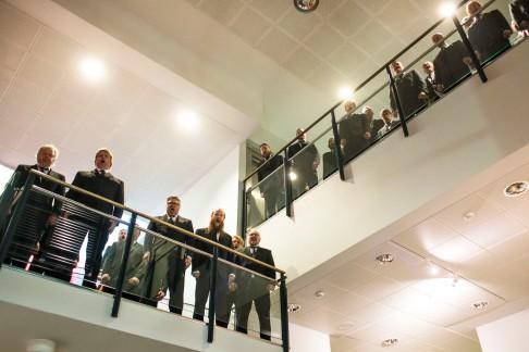 Men's Choir Shouters. Photo: NFFC / Lotta Salonen.